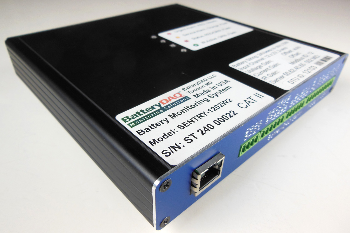 Sentry 1202 Telecom Battery Monitoring System Batterydaq